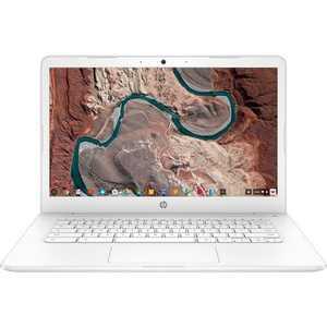 """HP 14 14"""" Chromebook Intel Celeron N3350 4GB RAM 32GB eMMC Snow White - Intel Celeron N3350 Dual-core - Intel HD Graphics 500 - USB 3.1 Connector"""