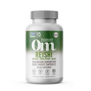 Om Mushrooms Reishi Superfood Dietary Supplement - 45ct