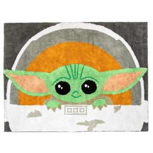 "3'6""x4'6"" Star Wars: The Mandalorian The Child Accent Rug"