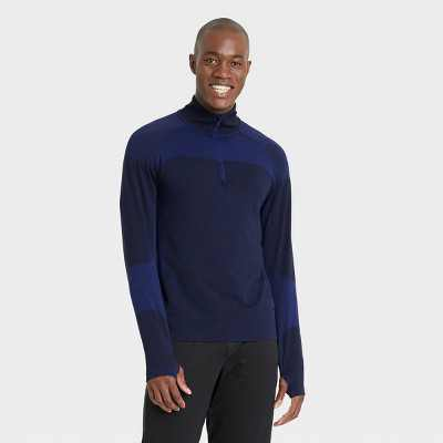 Men's Seamless 1/4 Zip Pullover - All in Motion