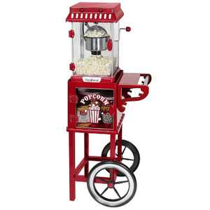 West Bend Electric Popcorn Machine with Cart - PCM20RD13