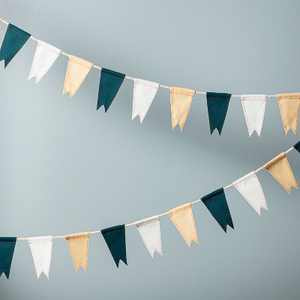 6' Mini Pennant Flags Garland - Hearth & Hand™ with Magnolia