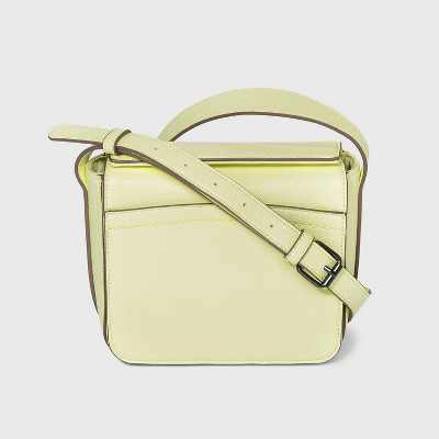 Magnetic Closure Crossbody Bag - A New Day™ Lime