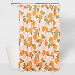 Microfiber Fruit Shower Curtain - Room Essentials™
