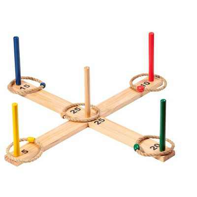 Monoprice Large Ring Toss Game - Easy Assembly, Perfect For Tailgating, Camping, Bbqs, Backyards, and Beaches - Pure Outdoor Collection