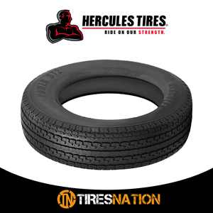 (1) New Hercules ST2 ST235/80R16/10 124/120L Tires