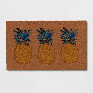 "1'6""x2'6"" Pineapples Doormat Neutral - Opalhouse™"