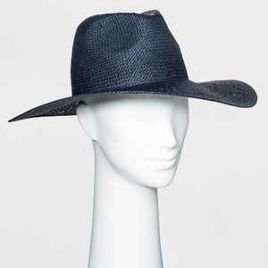 Women's Open Weave Straw Panama Hat - Universal Thread