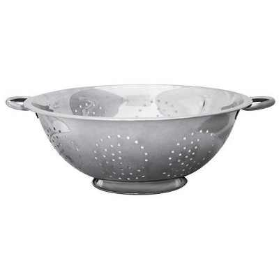 Home Basics 8 QT Stainless Steel  Deep Colander