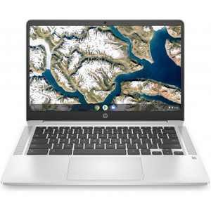 "HP 14 14"" Chromebook Intel Celeron N4000 4GB RAM 32GB eMMC Mineral Silver - Intel Celeron N4000 Dual-core - Intl UHD Graphics 600"