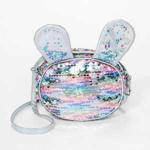 Girls' Sequin Bunny Crossbody Bag - Cat & Jack™ Pink