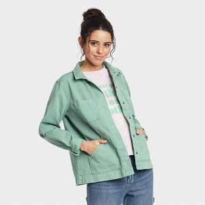Women's Long Sleeve Chore Jacket - Universal Thread