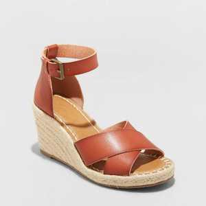Women's Ellie Espadrille Wedge Heels - Universal Thread
