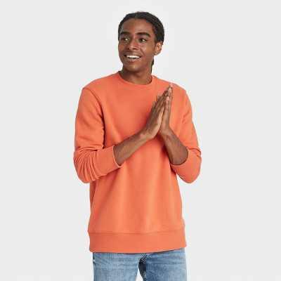 Men's Fleece Crewneck Sweatshirt - Goodfellow & Co