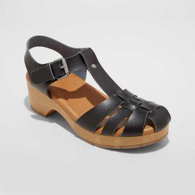 Women's Harlow Clog Heels - Universal Thread