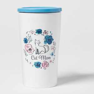 10oz Stoneware Cat Mom Tumbler - Opalhouse™