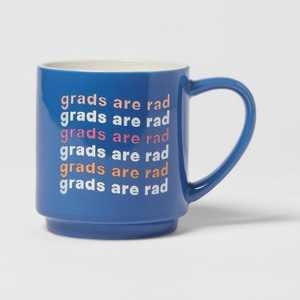 16oz Stoneware Grads Are Rad Mug - Room Essentials™