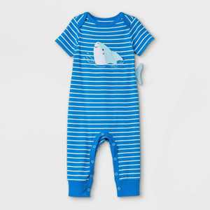 Baby Boys' Shark Romper - Cat & Jack Blue
