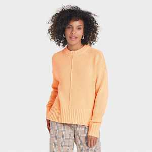 Women's Crewneck Pullover Sweater - A New Day