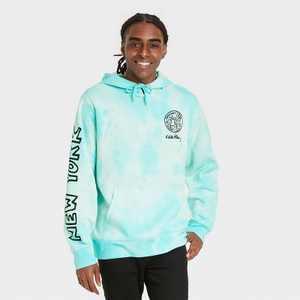 Men's Keith Haring NYC Liberty Hooded Sweatshirt - Teal