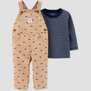 Baby Boys' Rhino Top & Bottom Set - Just One You made by carter's Khaki