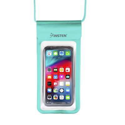 """Insten IPX8 Waterproof Bag Case Pouch Purse for iPhone 11 Pro Max XR XS X SE 2020 8 7 6s Plus, Samsung S20 S10 S9, All Smartphones Up to 6.9"""" x 3.5"""""""