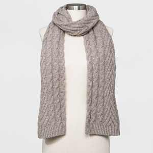 Women's Cable Knit Scarf - Universal Thread One Size