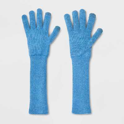 Women's Lightweight Long Knit Gloves - A New Day One Size
