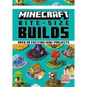 Minecraft Bite-Size Builds - (Hardcover)