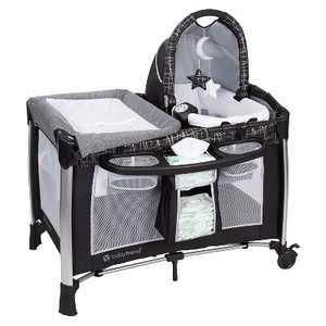 Baby Trend GoLite ELX Unisex Versatile Deluxe Infant Play Portable Nursery Center for Newborns, Phoenix