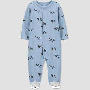Baby Boys' Fox Thermal Sleep N' Play - Just One You made by carter's Blue