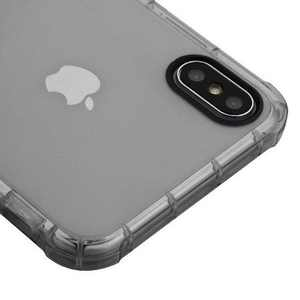 MYBAT Clear Rubber Skin Case Cover For Apple iPhone