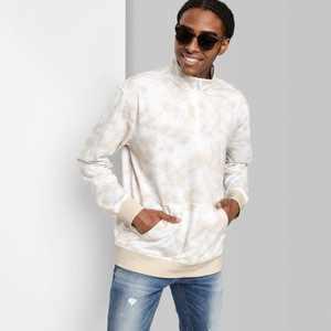 Adult Regular Fit Dip Dye Fleece 1/4th Zip Sweatshirt - Original Use