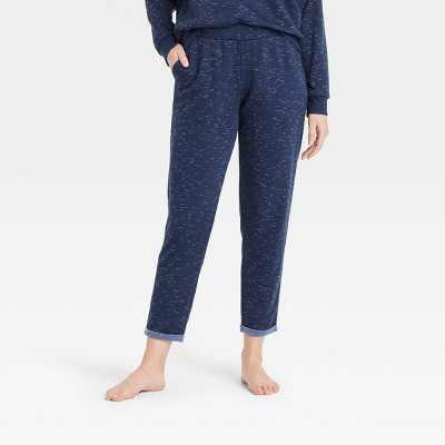 Women's Two-Toned Fleece Lounge Pants - Stars Above