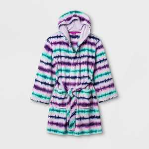 Girls' Tie-Dye Robe - Cat & Jack Purple