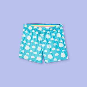 Girls' Clouds Twill Pajama Shorts - More Than Magic Blue