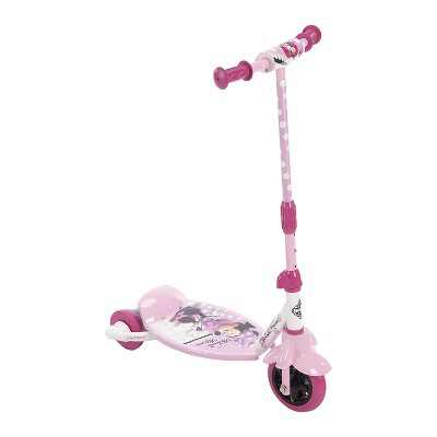 Huffy 38457 Preschool Toddler Kids Disney Minnie Mouse 3, 2, Grow Scooter Toy with Convertible Design and Adjustable Height for Ages 3 to 5, Pink