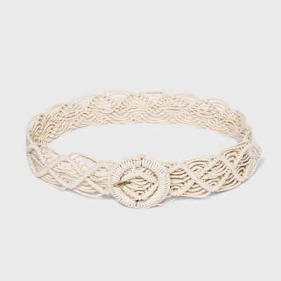 Women's Macramé Belt - Universal Thread