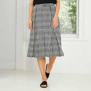 Women's Birdcage Midi Skirt - Who What Wear Black