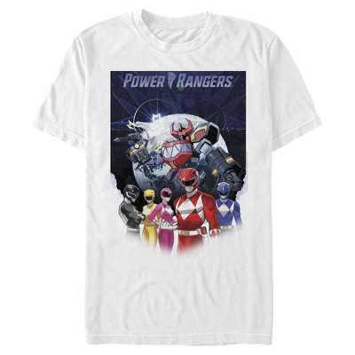 Men's Power Rangers Galactic Heroes T-Shirt