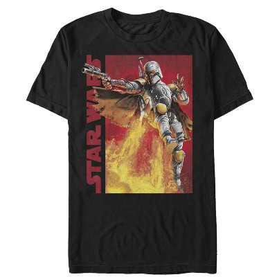 Men's Star Wars Boba Fett Rocket Launch T-Shirt