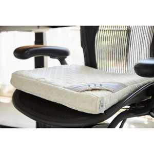 Brentwood Home Eco-Comfy Organic Latex Seat Cushion - Certified Organic Latex and Washable Cover