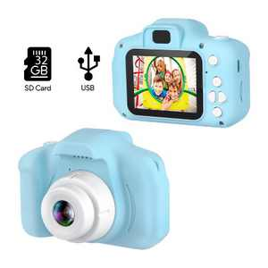 "Dartwood Digital Camera for Kids and Children - 2"" Color Display Screen, 1080p 3-Megapixels, Micro-SD Card Slot (32GB SD Card Included)"