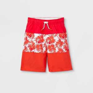 Boys' Colorblock Swim Trunks - Cat & Jack Orange