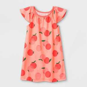 Toddler Girls' Peaches Nightgown - Cat & Jack Pink