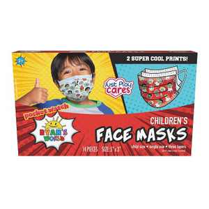 Just Play Ryan's World Kid's Face Mask - 14pc