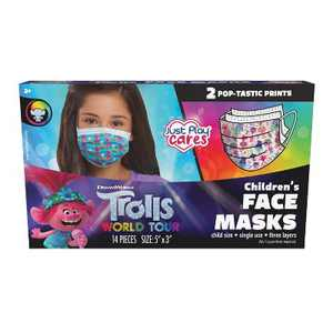 Just Play Trolls Kid's Face Mask -14pc