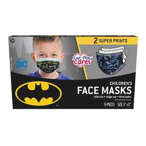 Just Play DC Comics Kid's Face Mask - 14pc