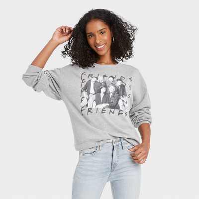 Women's FRIENDS Graphic Sweatshirt - Gray