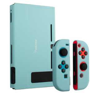 Insten for Nintendo Switch Dockable Protective Hard Case Cover Compatible with Nintendo Switch Console and Joycon, Hyacinth Blue